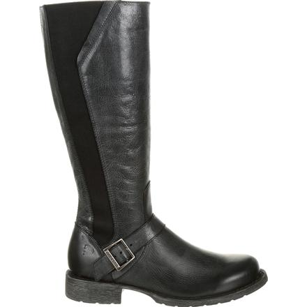 Crush™ by Durango® Women's Black Riding Boot, , large