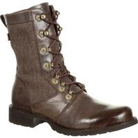 Durango Drifter Women's Brown Military Inspired Lacer Boot, , medium