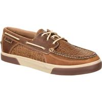 Durango Music City Men's Western Embossed Boat Moc, , medium
