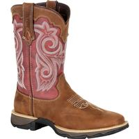 Lady Rebel™ by Durango® Women's Red Western Boot, , medium