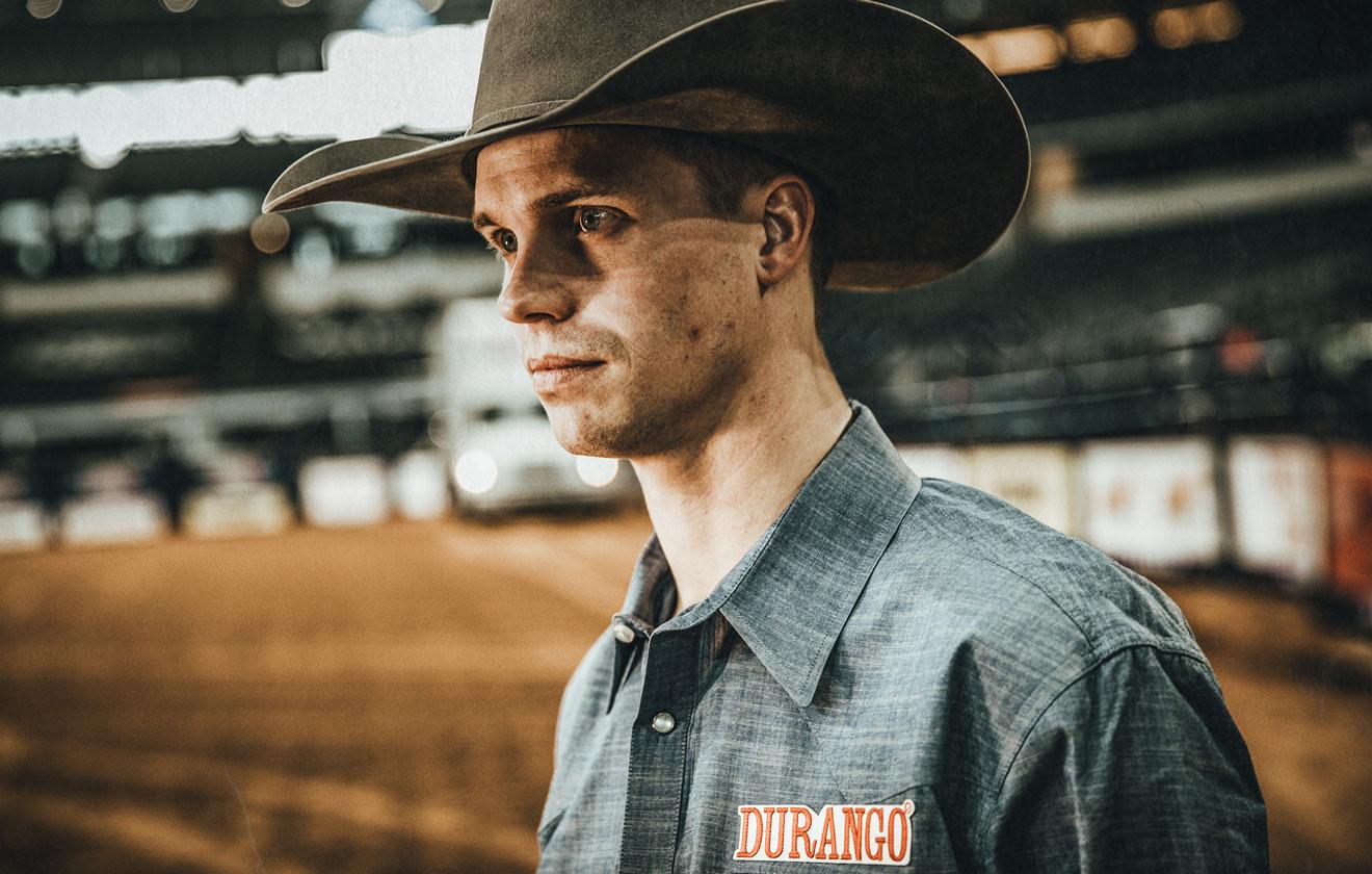 Orin Larsen   Professional Bareback Rider